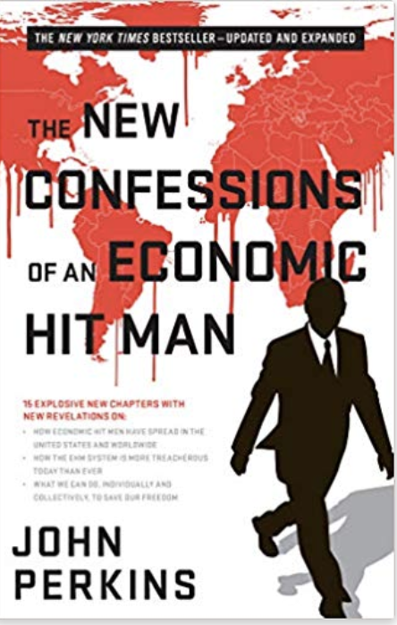 Book cover of the New Confessions of an economic hitman