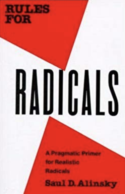 Book Cover of Rules for Radicals by Saul Alinsky